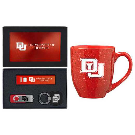 SET-A2-DENVER-RED: LXG Set A2 Tech Mug, Denver